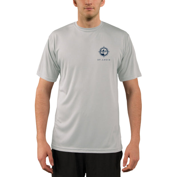 Compass Vintage St.Lucia Men's UPF 50+ Short Sleeve T-shirt