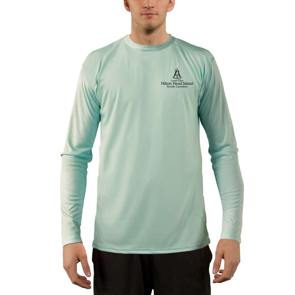 Coastal Classics Hilton Head Island Men's UPF 50+ UV/Sun Protection Performance T-shirt