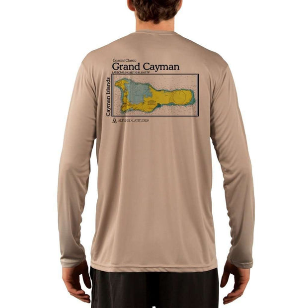 Coastal Classics Grand Cayman Mens Upf 5+ Uv/sun Protection Performance T-Shirt Tan / X-Small Shirt
