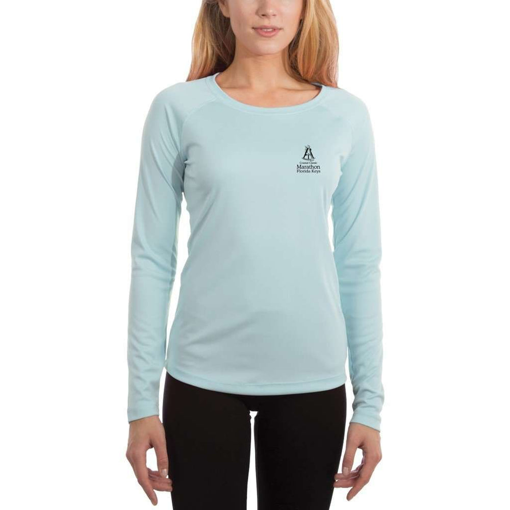 Coastal Classics Marathon Womens Upf 5+ Uv/sun Protection Performance T-Shirt Shirt
