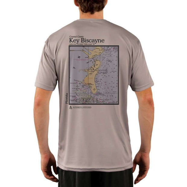 Coastal Classics Key Biscayne Mens Upf 5+ Uv/sun Protection Performance T-Shirt Athletic Grey / X-Small Shirt