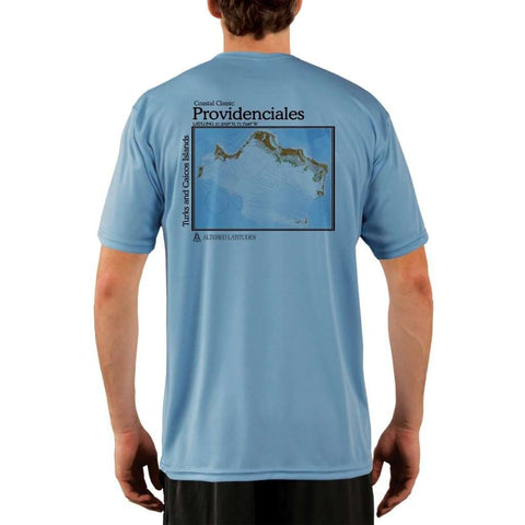 Coastal Classics Great Salt Pond Men's UPF 50+ UV/Sun Protection Performance T-shirt