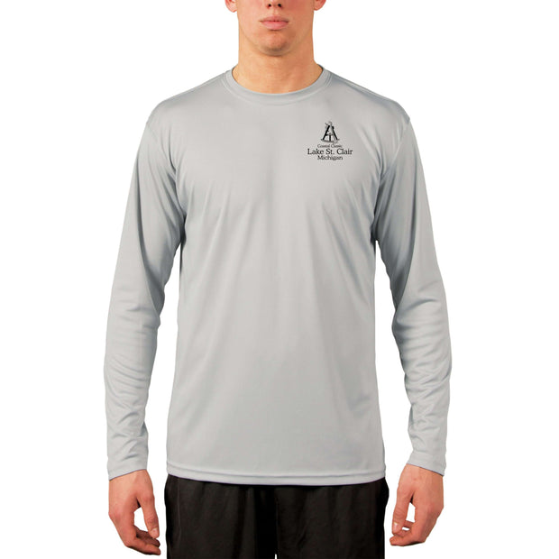 Coastal Classics Lake St Clair Men's UPF 50+ Long Sleeve T-Shirt