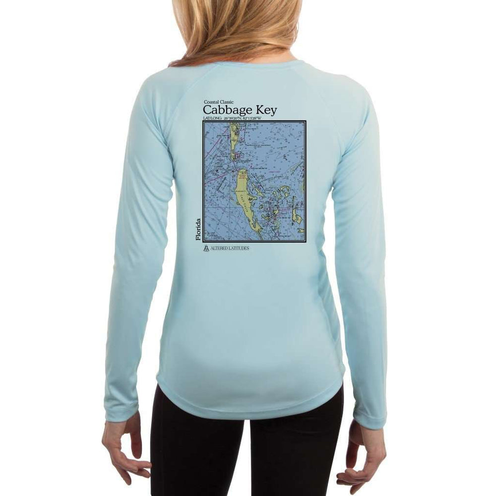Coastal Classics Cabbage Key Womens Upf 5+ Uv/sun Protection Performance T-Shirt Arctic Blue / X-Small Shirt