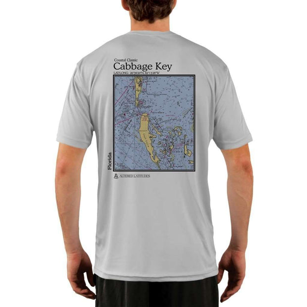 Coastal Classics Cabbage Key Mens Upf 5+ Uv/sun Protection Performance T-Shirt Pearl Grey / X-Small Shirt