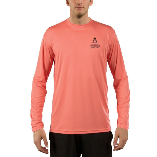 Coastal Classics Fire Island Men's UPF 50+ UV/Sun Protection Performance T-shirt