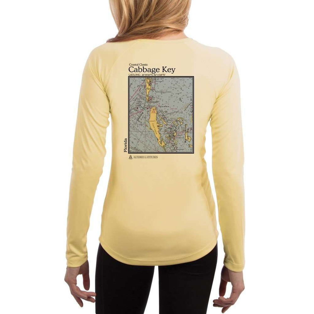 Coastal Classics Cabbage Key Womens Upf 5+ Uv/sun Protection Performance T-Shirt Pale Yellow / X-Small Shirt