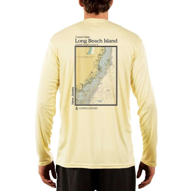 Coastal Classics Long Beach Island Men's UPF 50+ UV/Sun Protection Performance T-shirt - Altered Latitudes