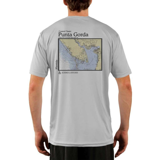 Coastal Classics Punta Gorda Mens Upf 5+ Uv/sun Protection Performance T-Shirt Pearl Grey / X-Small Shirt