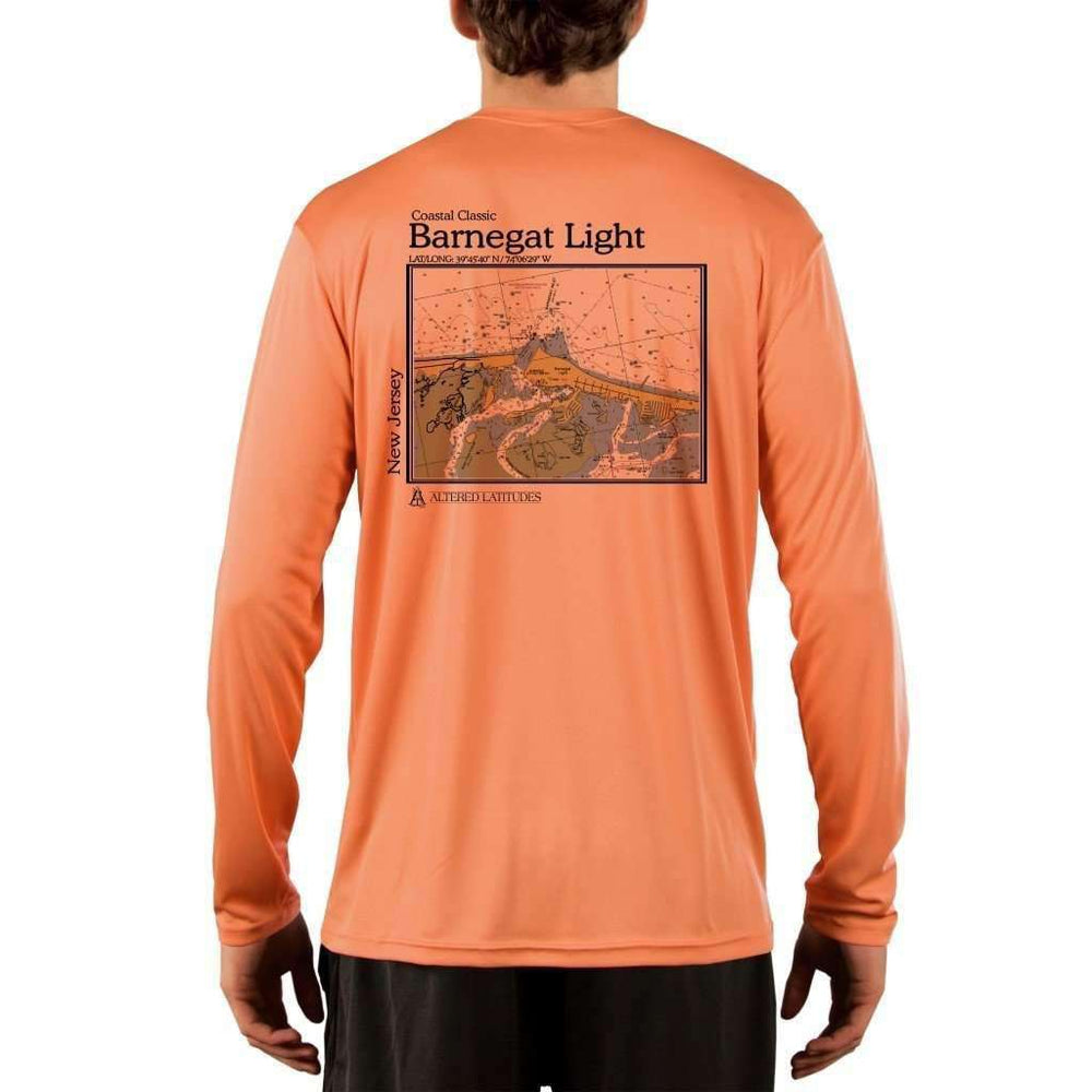 Coastal Classics Barnegat Light Men's UPF 50+ UV/Sun Protection Performance T-shirt - Altered Latitudes