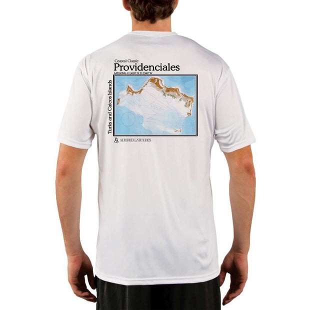 Coastal Classics Providenciales Mens Upf 5+ Uv/sun Protection Performance T-Shirt White / X-Small Shirt