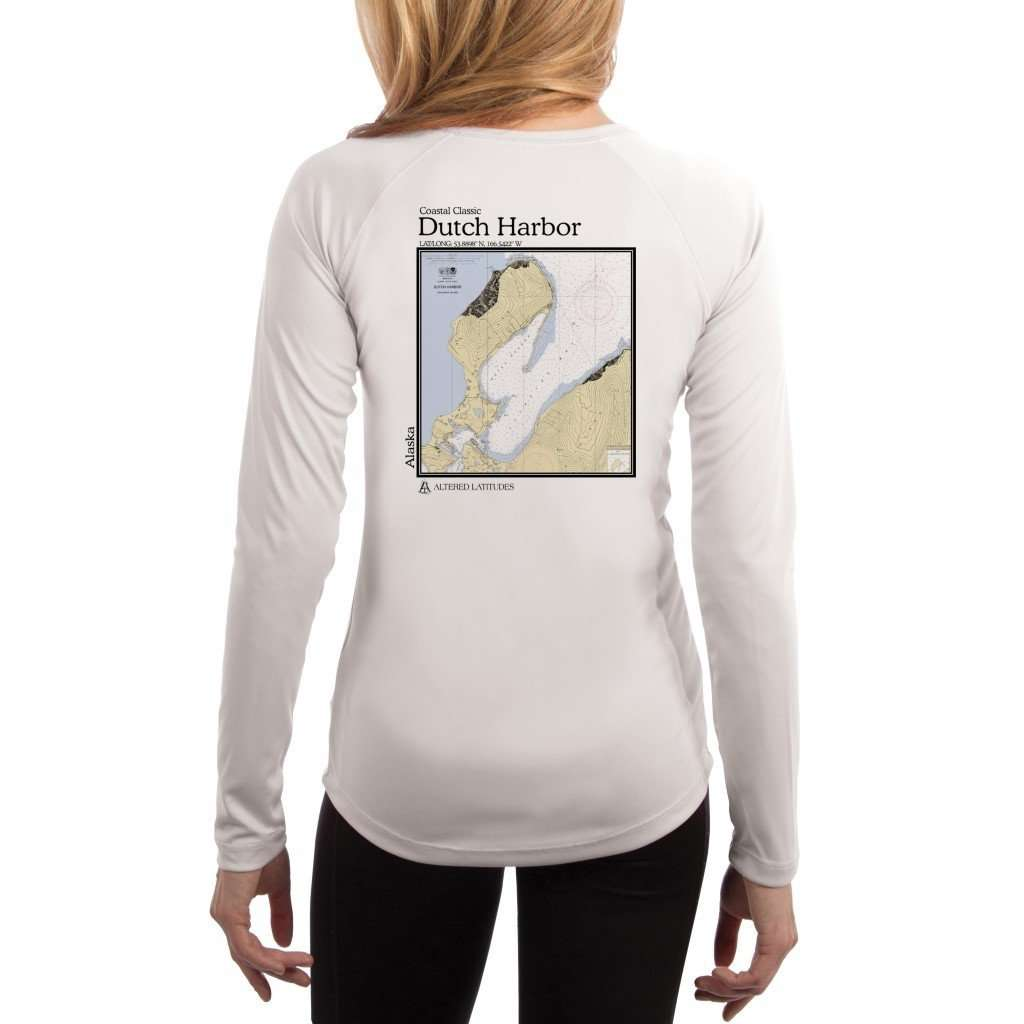 Coastal Classics Dutch Harbor Womens Upf 50+ Uv/sun Protection Performance T-Shirt White / X-Small Shirt