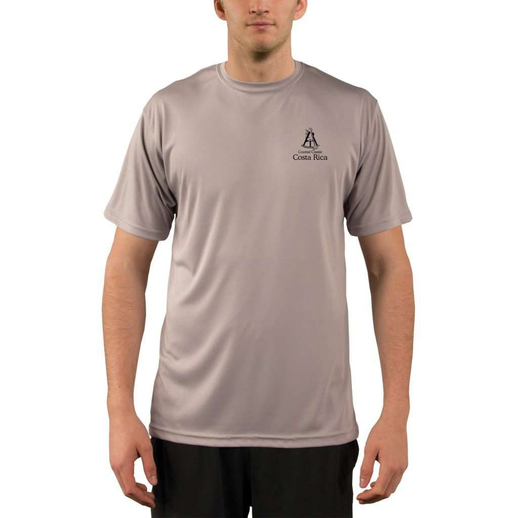 Coastal Classics Costa Rica Mens Upf 50+ Uv/sun Protection Performance T-Shirt Shirt