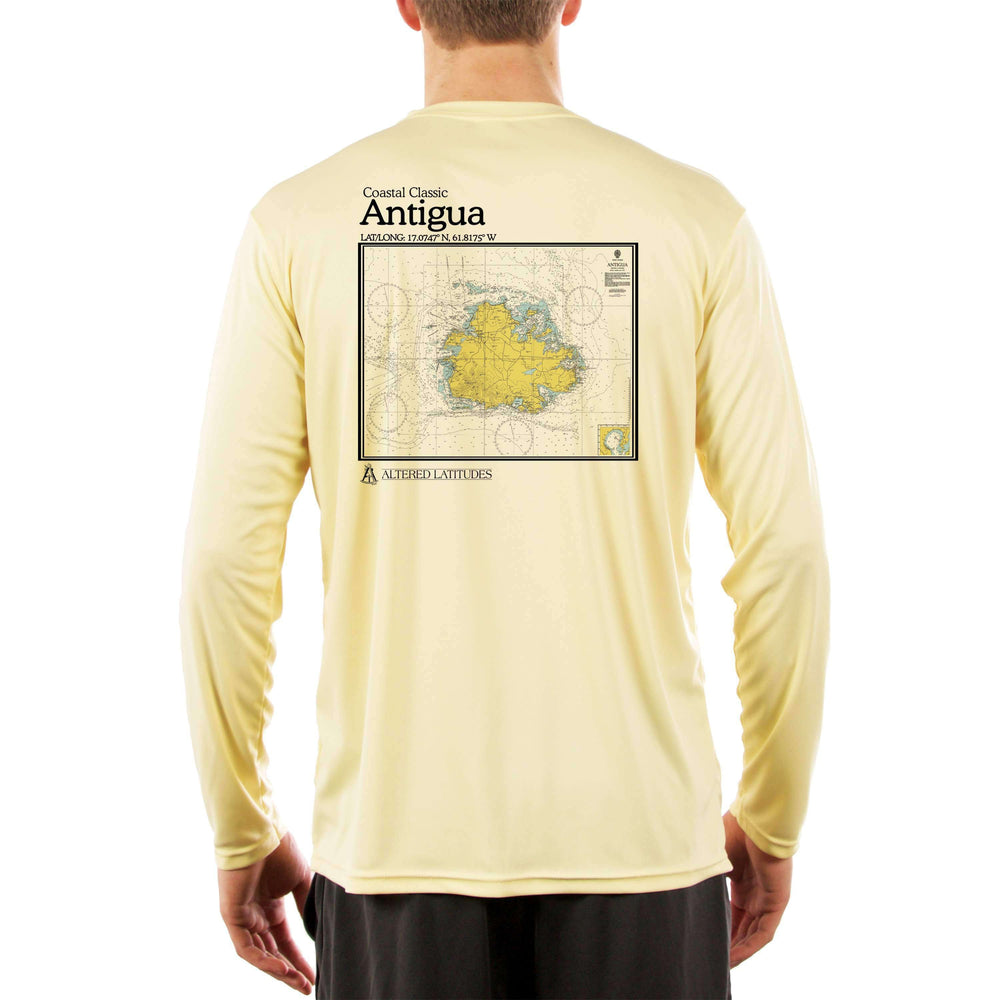 Coastal Classics Antigua Men's UPF 5+ Long Sleeve T-Shirt - Altered Latitudes