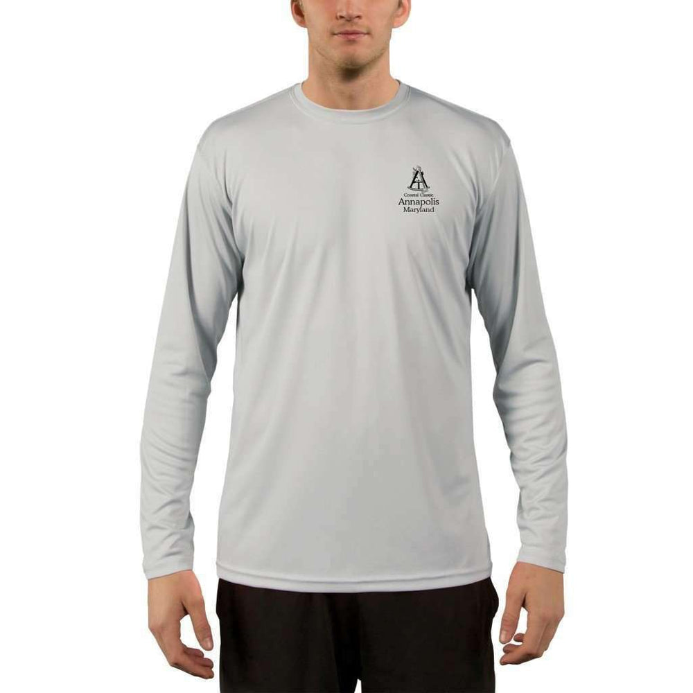 Coastal Classics Annapolis Mens Upf 5+ Uv/sun Protection Performance T-Shirt Shirt