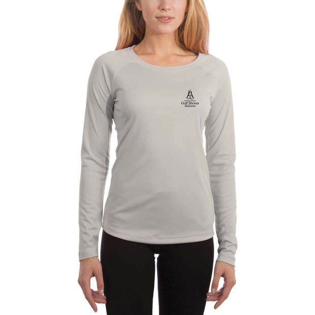 Coastal Classics Gulf Shores Women's UPF 50+ UV/Sun Protection Performance T-shirt