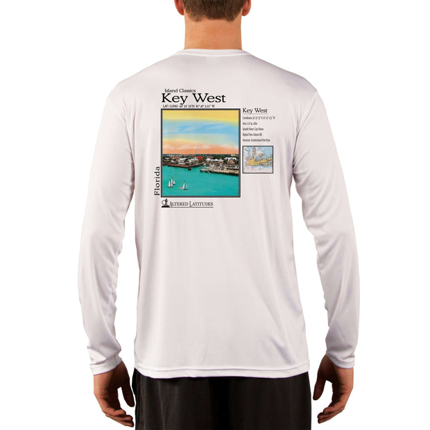 Island Classics Key West Men's UPF 50+ UV Sun Protection Long Sleeve T-Shirt