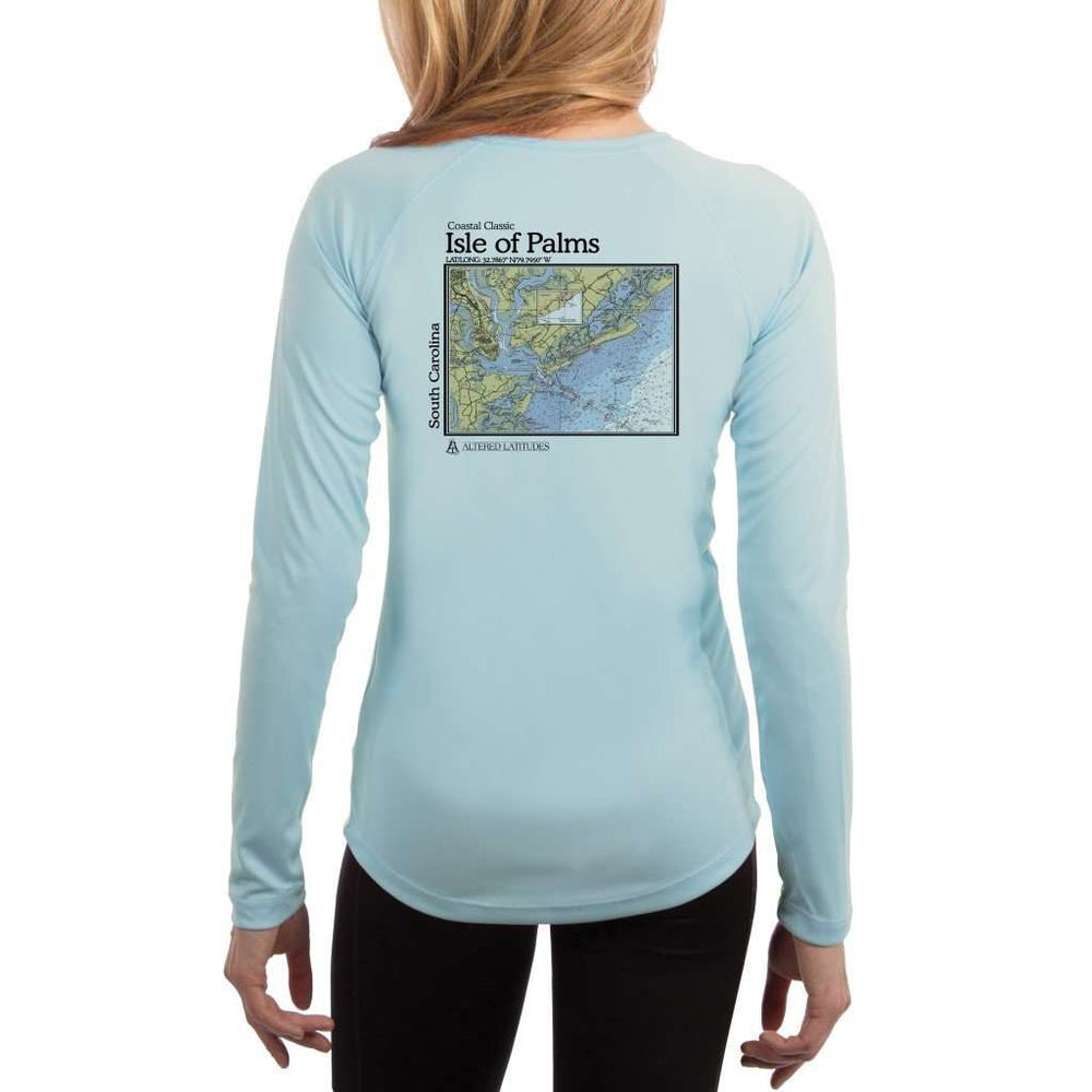 Coastal Classics Isle Of Palms Womens Upf 5+ Uv/sun Protection Performance T-Shirt Arctic Blue / X-Small Shirt