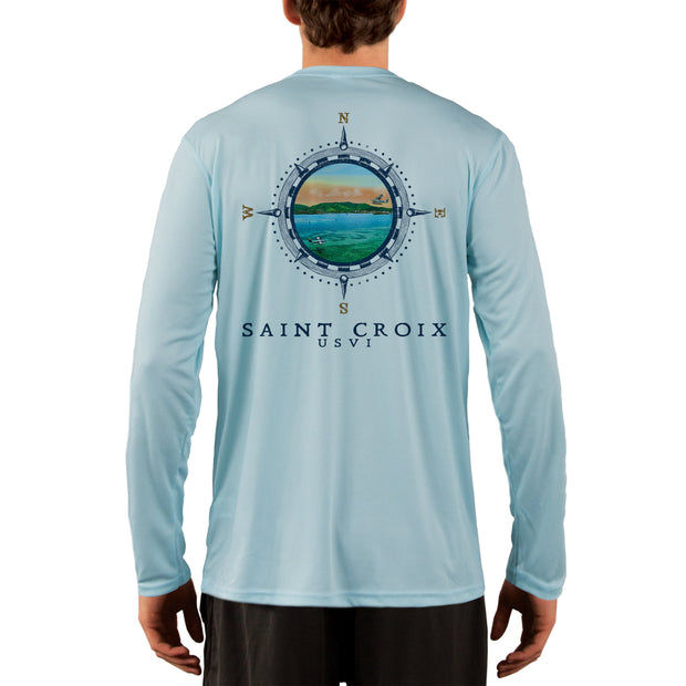 Compass Vintage Saint Croix Men's UPF 50+ Long Sleeve T-Shirt