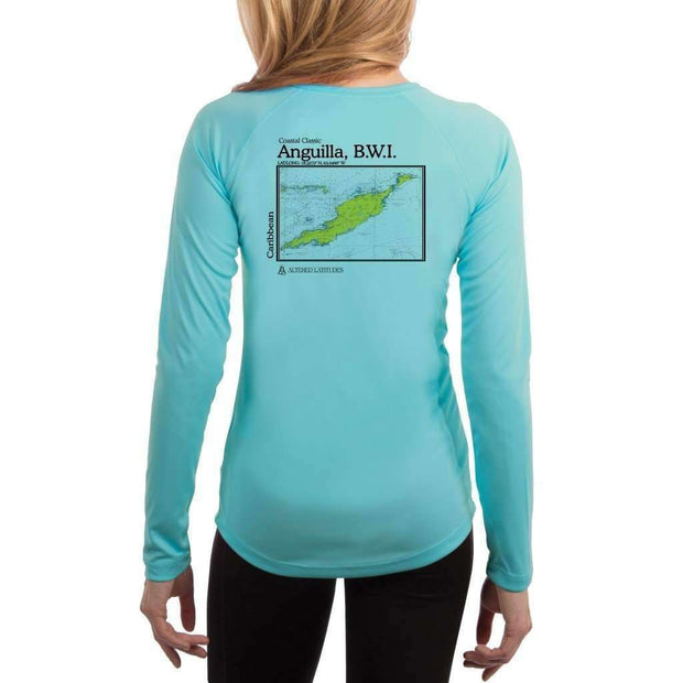 Coastal Classics Anguilla, B.W.I. Women's UPF 50+ UV/Sun Protection Performance T-shirt - Altered Latitudes