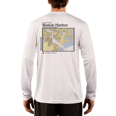 Coastal Classics Boston Harbor Men's UPF 50+ UV/Sun Protection Performance T-shirt - Altered Latitudes