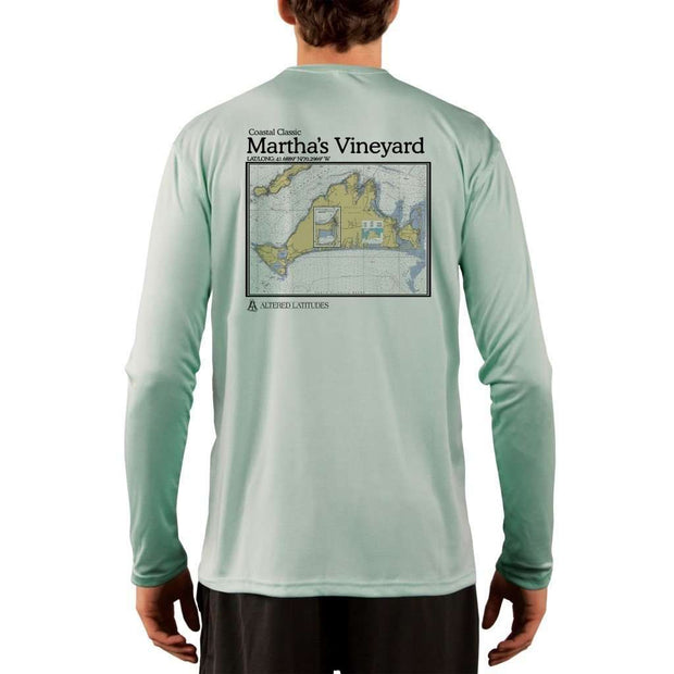 Coastal Classics Martha's Vineyard Men's UPF 50+ UV/Sun Protection Performance T-shirt - Altered Latitudes