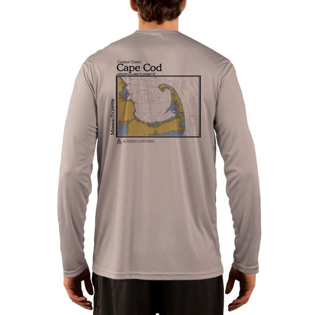 Coastal Classics Cape Cod Mens Upf 5+ Uv/sun Protection Performance T-Shirt Athletic Grey / X-Small Shirt
