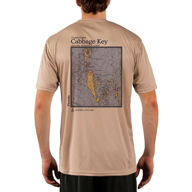Coastal Classics Cabbage Key Mens Upf 5+ Uv/sun Protection Performance T-Shirt Tan / X-Small Shirt