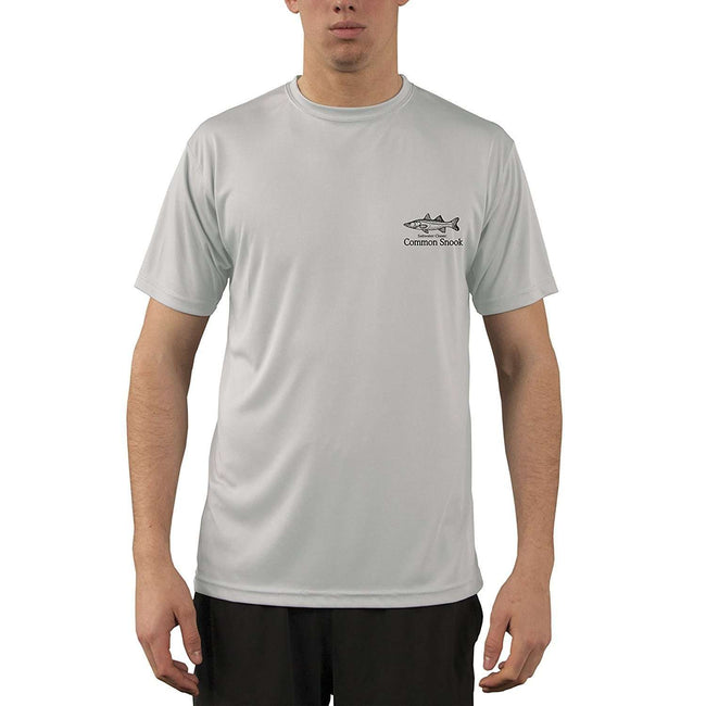 Altered Latitudes Saltwater Classic Snook Men's UPF 50+ UV/Sun Protection Short Sleeve T-Shirt