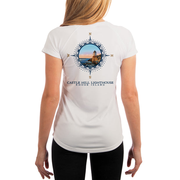 Compass Vintage Castle Hill Women's UPF 50+ Short Sleeve T-shirt