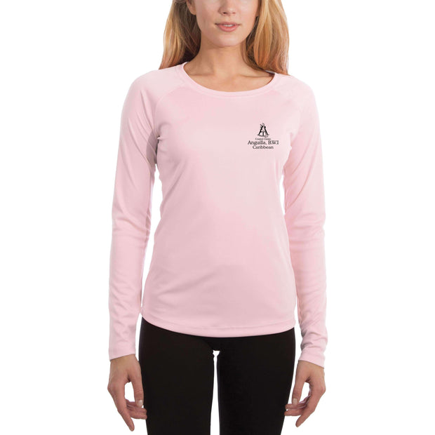 Coastal Classics Anguilla, B.W.I. Women's UPF 5+ UV/Sun Protection Performance T-shirt - Altered Latitudes