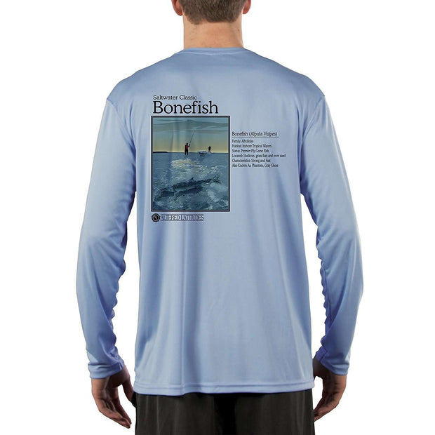 Saltwater Classic Bonefish Men's UPF 50+ Long Sleeve T-Shirt