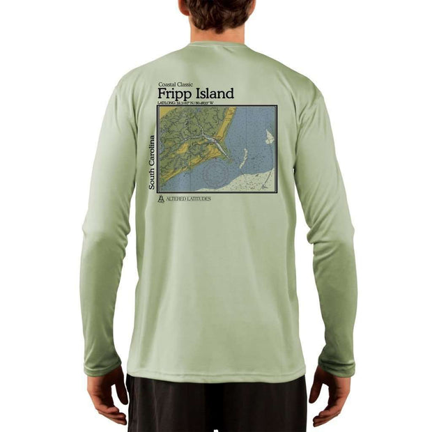 Coastal Classics Fripp Island Men's UPF 50+ UV/Sun Protection Performance T-shirt - Altered Latitudes