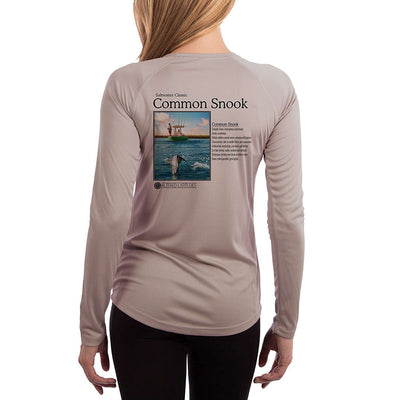 Saltwater Classic Snook Women's UPF 50+ Long Sleeve T-shirt