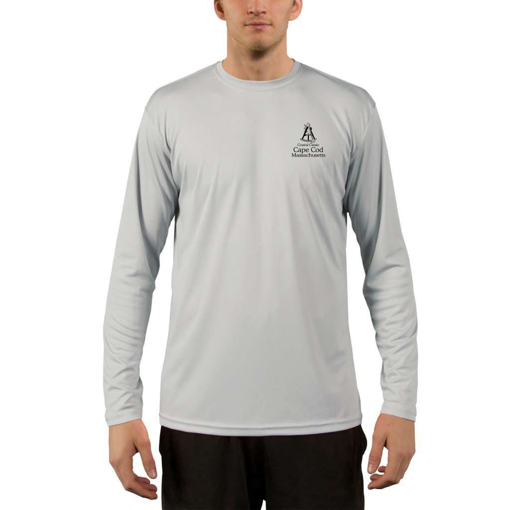 Coastal Classics Cape Cod Mens Upf 50+ Uv/sun Protection Performance T-Shirt Shirt