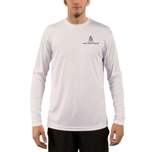 Coastal Classics Anna Maria Island Men's UPF 5+ UV/Sun Protection Performance T-shirt - Altered Latitudes