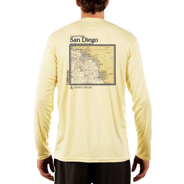 Coastal Classics San Diego Men's UPF 50+ UV/Sun Protection Performance T-shirt