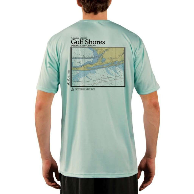 Coastal Classics Gulf Shores Mens Upf 5+ Uv/sun Protection Performance T-Shirt Seagrass / X-Small Shirt