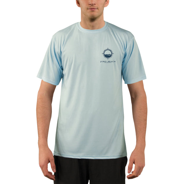 Compass Vintage Juno Beach Men's UPF 50+ Short Sleeve T-shirt