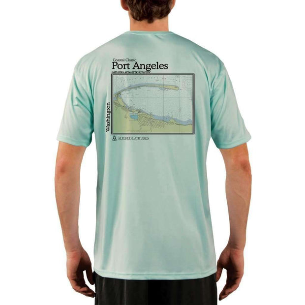 Coastal Classics Port Angeles Mens Upf 5+ Uv/sun Protection Performance T-Shirt Seagrass / X-Small Shirt
