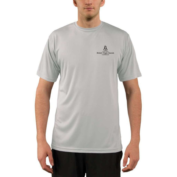 Coastal Classics British Virgin Islands Mens Upf 5+ Uv/sun Protection Performance T-Shirt Shirt