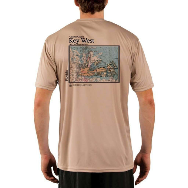 Coastal Classics Key West Mens Upf 5+ Uv/sun Protection Performance T-Shirt Tan / X-Small Shirt