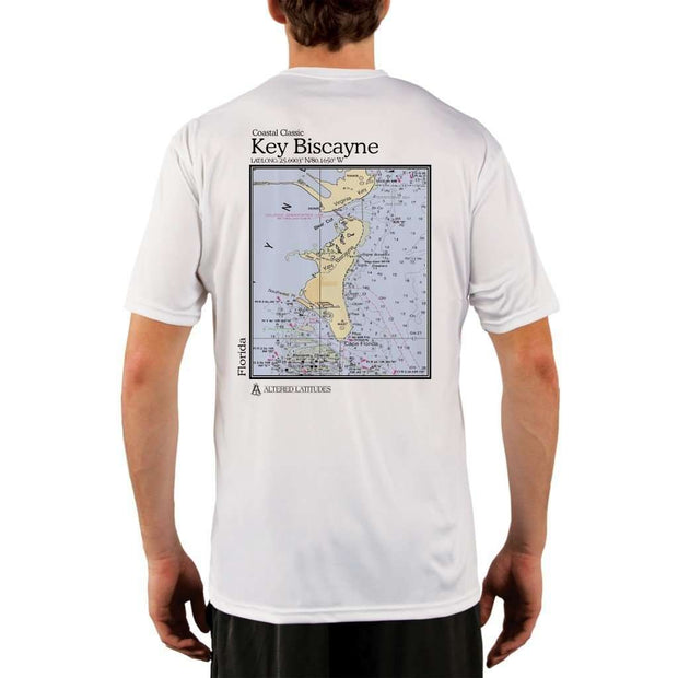 Coastal Classics Key Biscayne Mens Upf 5+ Uv/sun Protection Performance T-Shirt White / X-Small Shirt