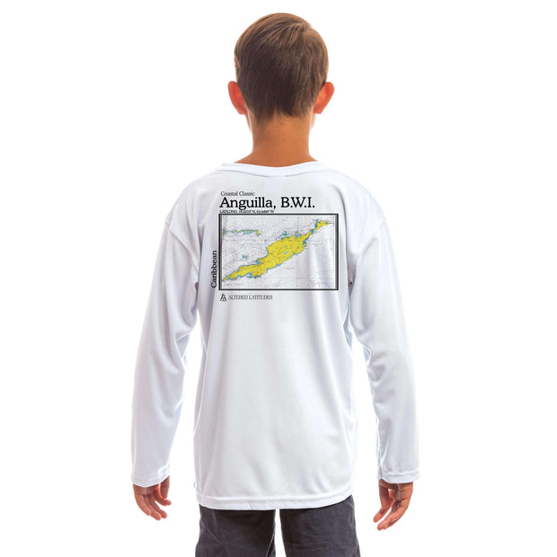 Coastal Classics Anguilla Youth UPF 5+ UV/Sun Protection Long Sleeve T-Shirt - Altered Latitudes
