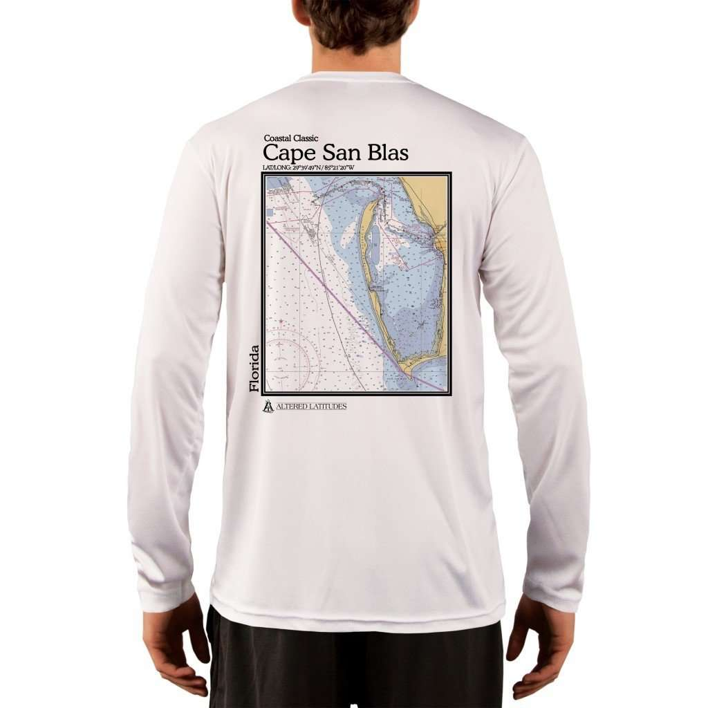 Coastal Classics Cape San Blas Mens Upf 50+ Uv/sun Protection Performance T-Shirt White / X-Small Shirt