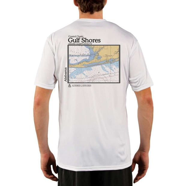 Coastal Classics Gulf Shores Mens Upf 5+ Uv/sun Protection Performance T-Shirt White / X-Small Shirt