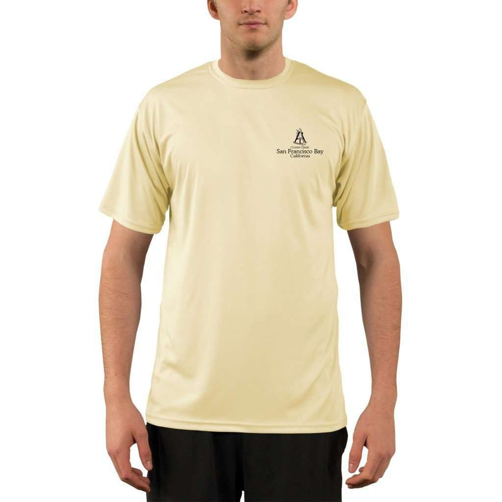 Coastal Classics San Francisco Bay Mens Upf 5+ Uv/sun Protection Performance T-Shirt Shirt