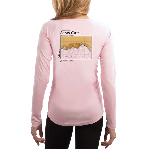 Coastal Classics Santa Cruz Women's UPF 50+ UV/Sun Protection Performance T-shirt