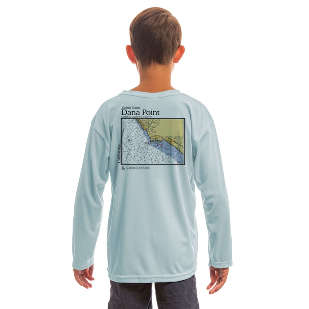 Coastal Classics Dana Point Youth UPF 50+ UV/Sun Protection Long Sleeve T-Shirt