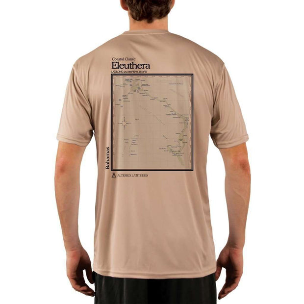 Coastal Classics Eleuthera Mens Upf 5+ Uv/sun Protection Performance T-Shirt Tan / X-Small Shirt